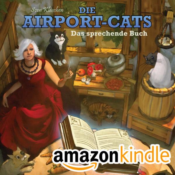 "eBook Kindle - Airportcats ""Das sprechende Buch"""