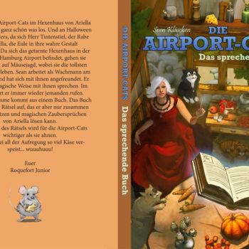 Airportcats Band 1 – Das sprechende Buch