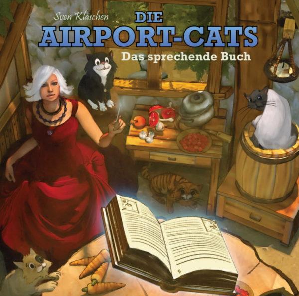 "Airportcats Band 1 - ""Das sprechende Buch"""