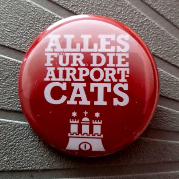 Button Logo - Alles für die Airport-Cats Hamburg