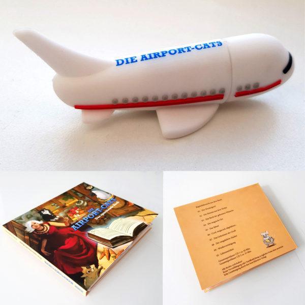 Hörspiel Stick Flugzeug Airportcats
