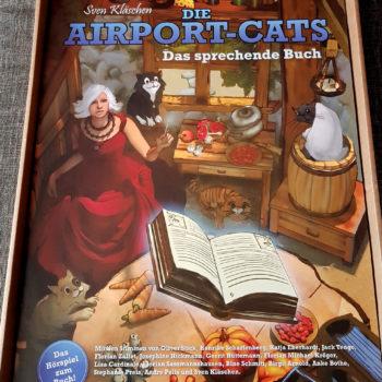 "Poster – Airportcats ""Das sprechende Buch"" in A2"
