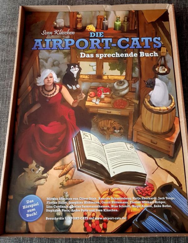 Poster Airportcats Band 1 - Das sprechende Buch